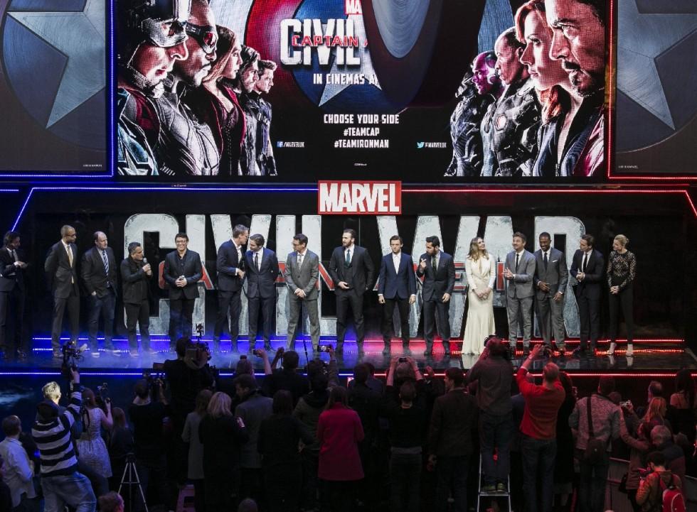 """Captain America"" - European Premiere"
