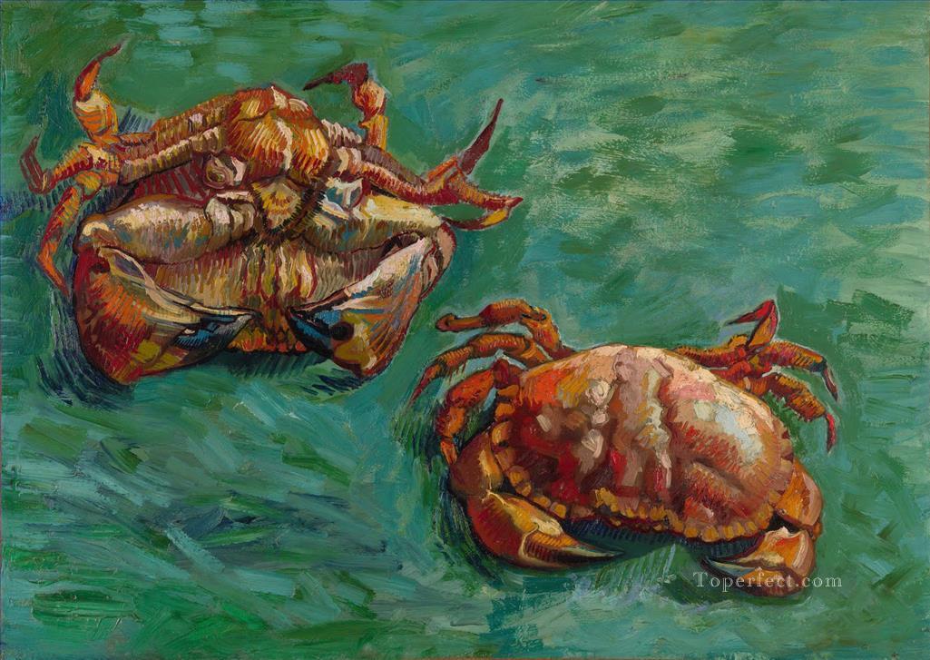 3-Two-Crabs-Vincent-van-Gogh