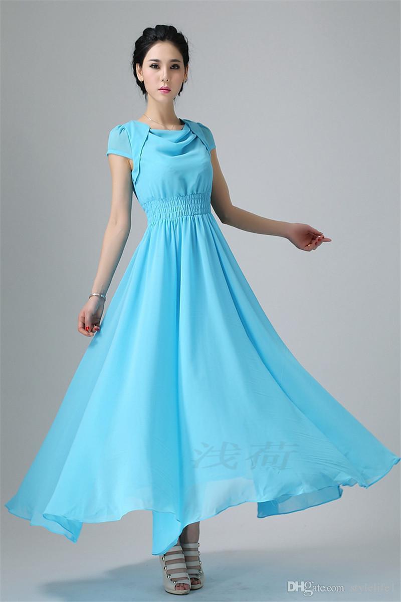 Dresses of Chiffon best ideas, Vestidos de chiffon – Positive Diva