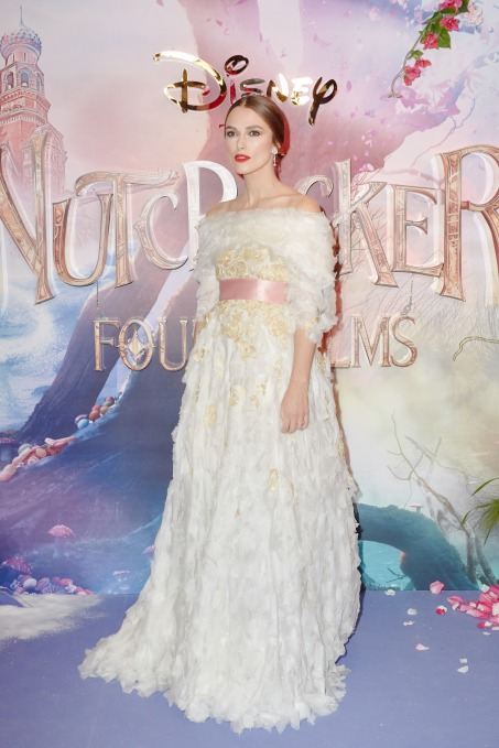 "The European Gala screening of Disney's ""The Nutcracker and the Four Realms"" at Vue Westfield White City on November 1st, 2018 in London, United Kingdom."