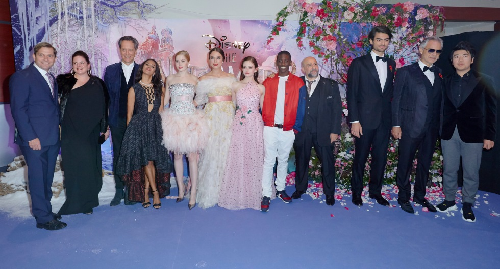 "European Gala Screening of Disney's ""The Nutcracker and the Four Realms"" at Vue Westfield White City on November 1st, 2018 in London, United Kingdom."