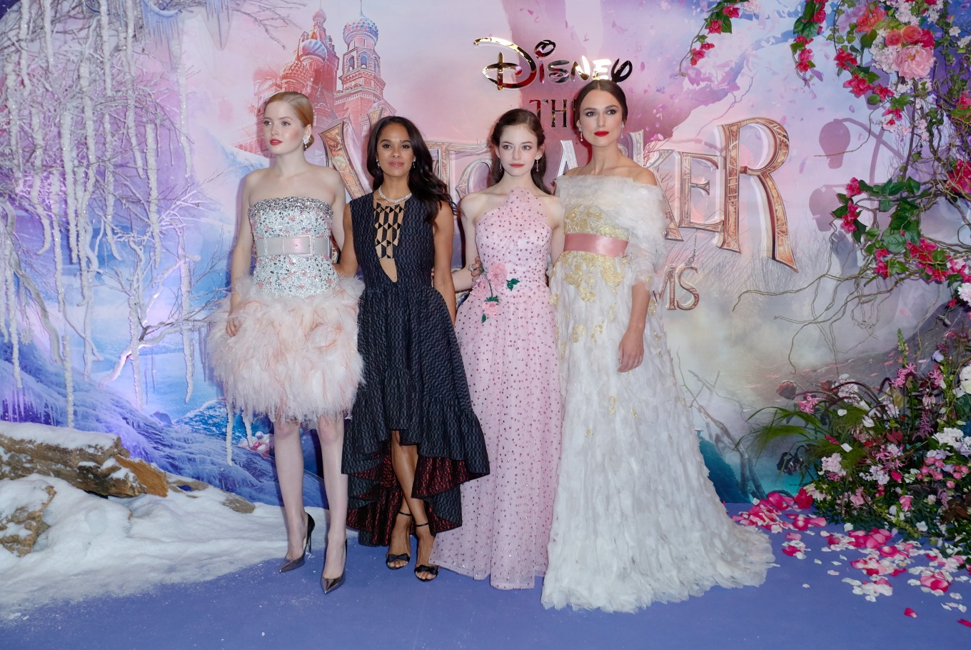 """European Gala Screening of Disney's """"The Nutcracker and the Four Realms"""" at Vue Westfield White City on November 1st, 2018 in London, United Kingdom."""